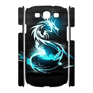 Chinese dragon Custom 3D Case for Samsung Galaxy S3 I9300,personalized Chinese dragon Phone Case