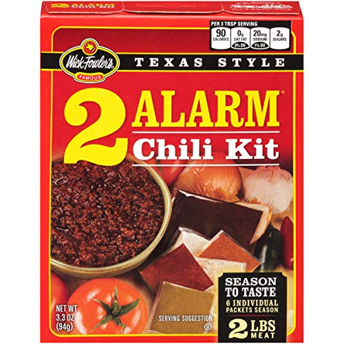 Wick Fowler 2-Alarm Chili Kit, (Pack of 8) ()