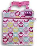 Little Girls' Pink Heart Pattern Messenger Purse