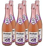Bon Voyage Alcohol Free Sparkling Pinot Noir, 75 cl, Case of 6