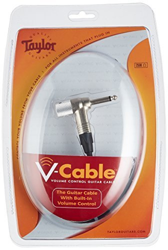 Taylor Guitars VCABLE250-20 Volume Control Instrument Cable, 20-Feet