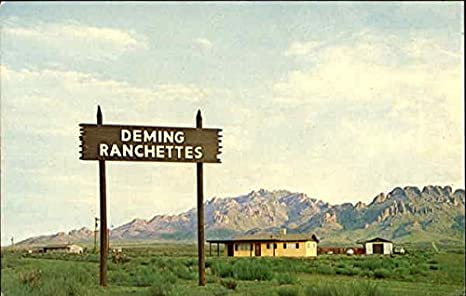 Deming, New Mexico Postcard at Amazons Entertainment