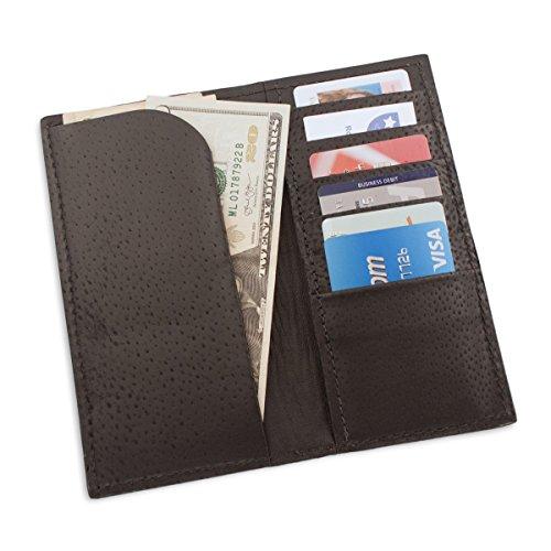 Skin Genuine Leather Rodeo Leather Burgundy Stingray Skin Genuine Stingray Checkbook Wallet Wallet Rodeo Burgundy Stingray Genuine Checkbook PAqp4zwx
