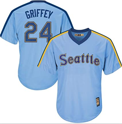 new arrival be231 85404 Amazon.com : Ken Griffey Jr. Seattle Mariners Blue Cool Base ...