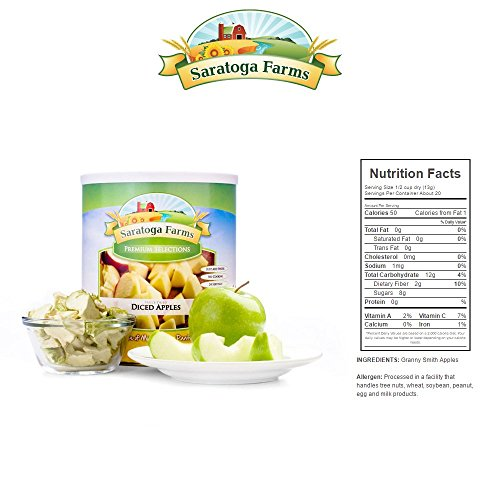 BASIC Year Supply of Freeze-Dried Fruit by Saratoga Farms (Image #6)