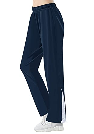 "69e15d80cc3b4 HISKYWIN 29""/31"" Inseam Women Casual Sweatpants, Elastic Waist  Jogger Pants,"