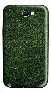 Samsung Note 2 Case Grass Background 3D Custom Samsung Note 2 Case Cover