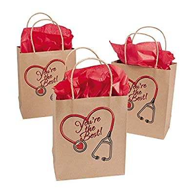 Medium Nurse Craft Bags (Sets of 12) - Party Supplies: Health & Personal Care