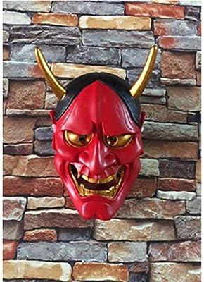 WEN-mask Disfraz de Halloween Horror, Fantasma Cabeza Máscara ...