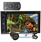 "pkg Pioneer AVH-X2800BS 2-DIN 6.2"" Touchscreen LCD Display DVD/CD Bluetooth Receiver with Spotify and Pandora Control + XO Vision HTC-36 Backup Camera with Nightvision"