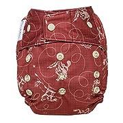 GroVia Reusable Hybrid Baby Cloth Diaper Snap Shell (Tex)