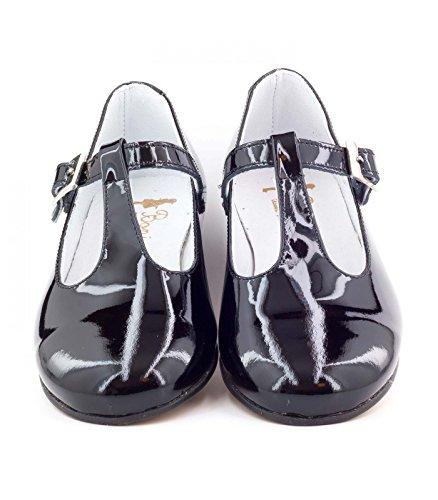 Boni Classic Shoes - botas de caño bajo Niñas negro
