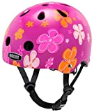 Nutcase Baby Nutty Street Bike Helmet, Fits Your Head, Suits Your Soul – Petal Power For Sale