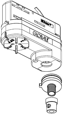filetage M13/x 1 Noir complet Adaptateur 3/phases Multi