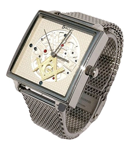 """The Master Mason"" Masonic Watch Designed After The Famous Dudley Masonic Watch Movement"
