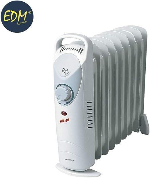 EDM Radiador de aceite junior 900W (9 elementos): Amazon.es: Hogar