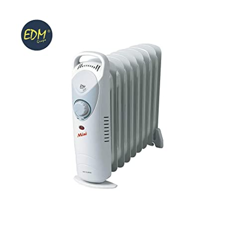 EDM Radiador de aceite junior 900W (9 elementos): Amazon.es ...