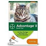 Flea Prevention for Cats, 5-9 lb, 6 doses, Advantage II
