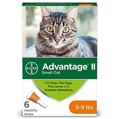 (Flea Prevention for Cats, 5-9 lb, 6 doses, Advantage II)