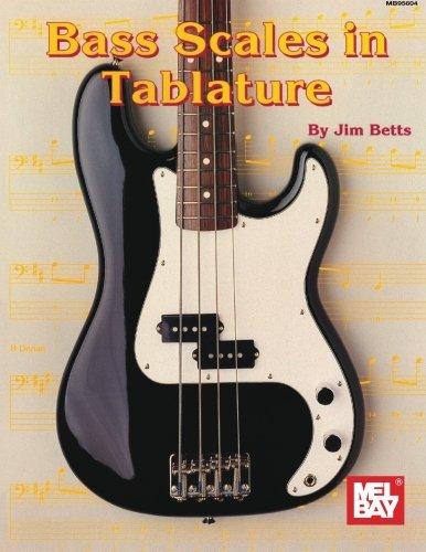 Mel Bay Bass Scales in Tablature