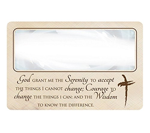 Magnifying Bookmark (Magnifying Bookmark with Serenity Prayer, 3 1/4 Inch)