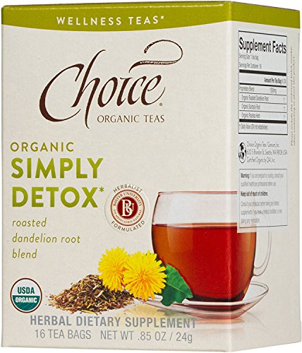 Choice Organic Teas Wellness Tea, Simply Detox, 16 Count