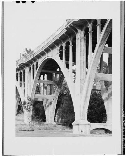 Photo: Colorado Street Bridge,Pasadena,Los Angeles - Ca Pasadena Colorado