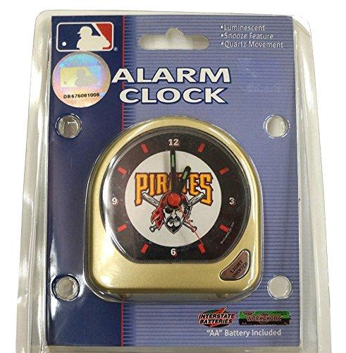 MLB Pittsburgh Pirates Alarm Clock (Mlb Baseball Alarm Clock)