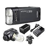 Godox AD200 TTL 2.4G HSS 1/8000s Pocket Flash Light Double Head 200Ws with 2900mAh Lithium Battery Flashlight Out Door Flash