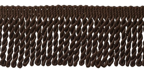 10 Yard Value Pack of Brown 2.5 Inch Bullion Fringe Trim, St