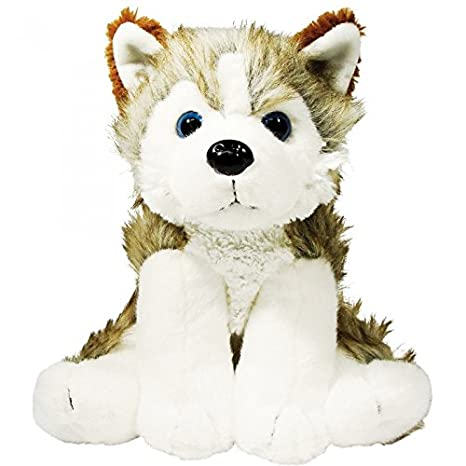 Christmas Shop - Hunter, el perro Husky de peluche: Amazon ...