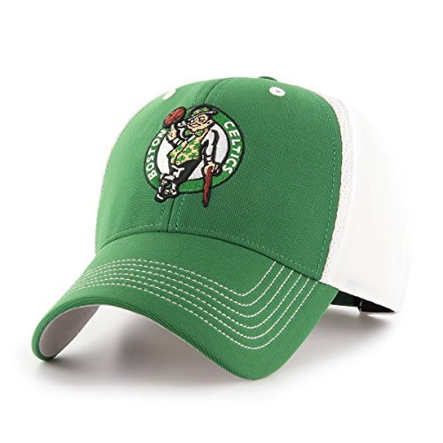 (NBA Boston Celtics Sling OTS All-Star MVP Adjustable Hat, Kelly, One Size, NA)