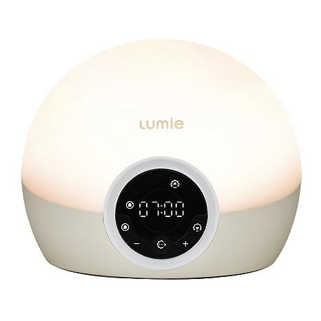Lumie Bodyclock Spark 100 - Despertador con Luz, Simulación de amanecer, Intensidad y Duración