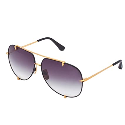 Amazon.com  Port Fairy Dita Mens Sunglasses Brand Designer Aviator  Sunglasses Women So Real Lunette De Soleil Femme Oculos De Sol Masculino  5609F  Sports   ... 2ac98143b882