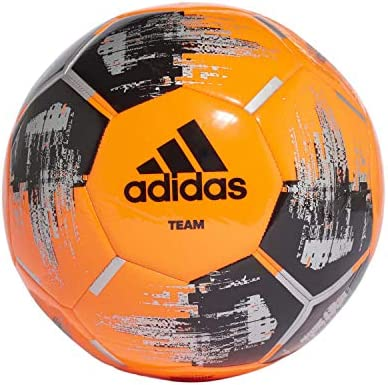 adidas Team Glider Balón Fútbol Hombre, Naranja (Narsol/Negro ...