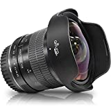 Altura Photo 8mm f/3.0 Professional Ultra Wide Angle Aspherical Fisheye Lens for Canon EOS 77D 80D Rebel T7 T7i T6i T6s T6 SL2 SL3 DSLR Cameras