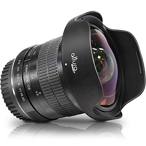 Altura Photo 8mm f/3.0 Professional Ultra Wide Angle Aspherical Fisheye Lens for Canon EOS 77D 80D Rebel T7 T7i T6i T6s T6 SL2 SL3 DSLR Cameras