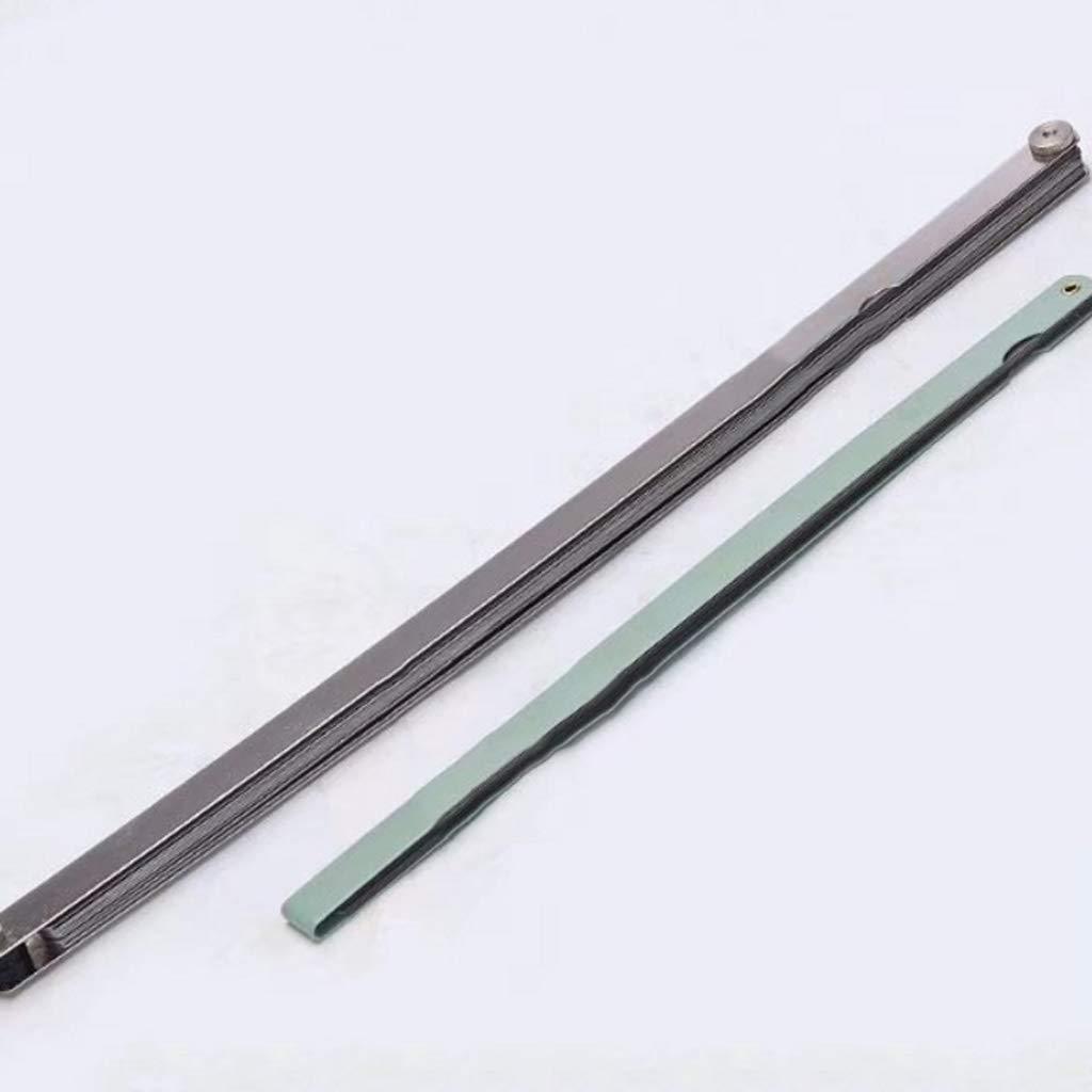 Jauges d/épaisseur Mesure de jauge de jauge d/épaisseur de jauge d/épaisseur de jauge d/épaisseur en acier inoxydable allong/ée Acier inoxydable Jauges d/épaisseur