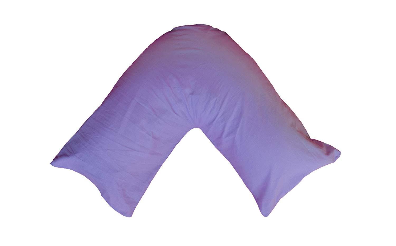 Texmart a /& R V Ortopedico//Gravidanza//Allattamento Pillow Case Lilla