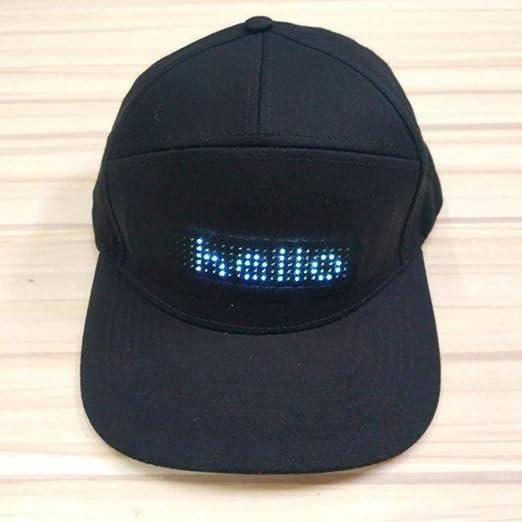 ZMAMLCJK1pcs Sombrero publicitario LED publicitario editable ...