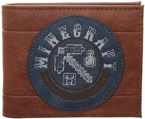 Minecraft Wallet Gift Gamers Accessory product image