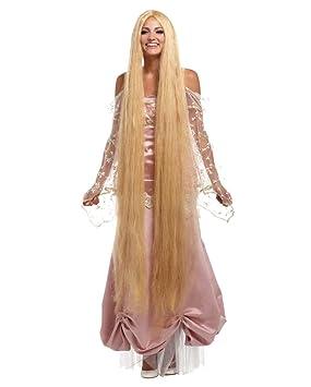 peluca de pelo largo de Lady Godiva XXL
