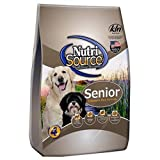 TUFFY'S PET FOOD 131136 Nutrisource Senior Dog Chicken/Rice Food, 18-Pound