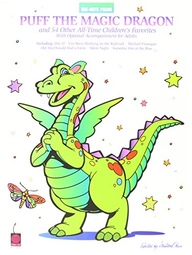 Puff the Magic Dragon & 54 Other All-Time Children's Favorites Big Note Son (Pokemon Piano Sheet Music compare prices)