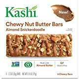 Kashi Almond Snickerdoodle Chewy Granola Nut Butter Bars, 6.2 Ounce