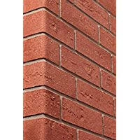 Elastolith 99412 flexibele muurbaksteen, 1 m, vierkant, rood