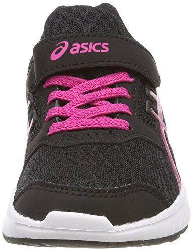 Asics Stormer 2 PS, Zapatillas de Running Para Niños Multicolor (Blackfuchsia Purplewhite)