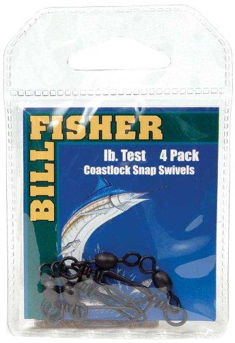 Billfisher BCSS10 Coast Lock Snap Fishing Swivels   B000ALGFKI