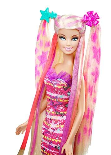 Color And Design Salon Barbie.Mattel X2345 Barbie Hairtastic Color And Design Salon Barbie Doll
