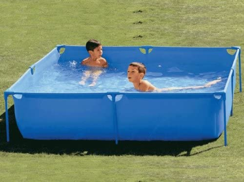 Piscina tubular 120 x 120 cm: Amazon.es: Jardín